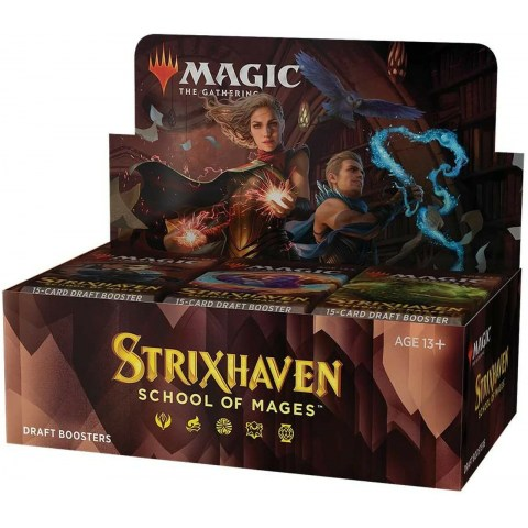 (Pre-order) MTG: Strixhaven: School of Mages Draft Booster Display Box (36) в Magic: the Gathering