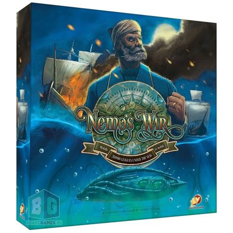 Nemo's War (second edition) (2017) - настолна игра