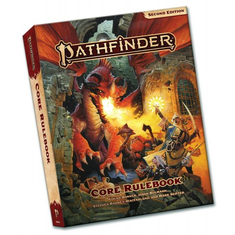 Pathfinder RPG 2nd Edition: P2 Core Rulebook Pocket Edition (Softcover, 2020) в D&D и други RPG / Pathfinder 2nd Edition