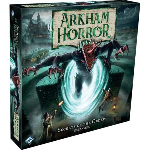 (Pre-order) Arkham Horror: Third Edition - Secrets of the Order Expansion (2021) - разширение за настолна игра