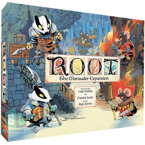 (Pre-order) Root: The Marauder Expansion (Kickstarter Edition, Marauder Pledge, 2021)