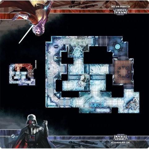 Star Wars: Imperial Assault - Nelvaanian War Zone Skirmish Map