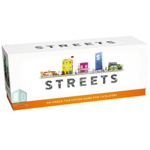 (Pre-order) Streets Board Game (2021) - настолна игра