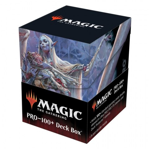 Ultra Pro Magic: D&D Adventures in the Forgotten Realms - Lolth Spider Queen Deck Box (100+) - кутия за карти в Кутии за карти