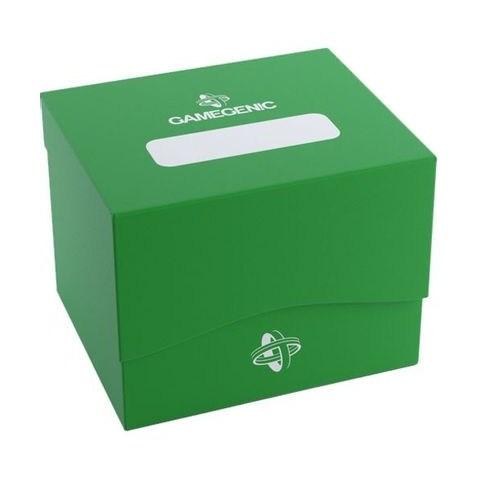 Gamegenic Green Side Deck Holder XL (100+) - зелена кутия за карти в Кутии за карти