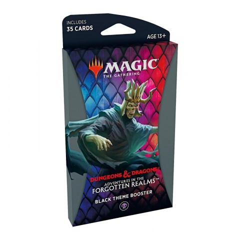 MTG: Dungeons & Dragons D&D Adventures in the Forgotten Realms Theme Booster - Black (1 бустер) в Magic: the Gathering