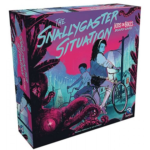 The Snallygaster Situation: Kids on Bikes Board Game (2021) - кооперативна настолна игра