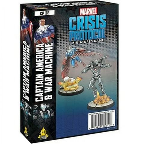 Marvel: Crisis Protocol – Captain America and War Machine (2021)