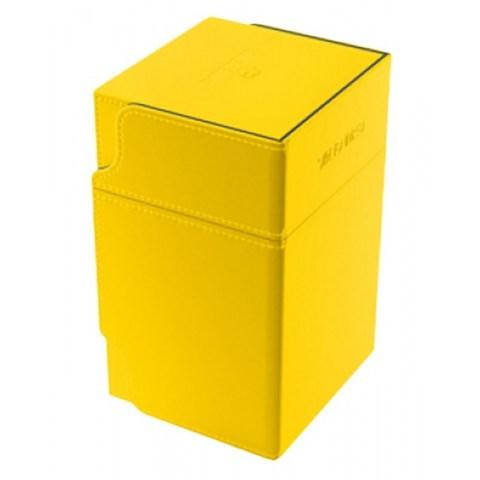 Gamegenic Yellow Watchtower Deck Holder (100+) - жълта кутия за карти и игрални аксесоари в Кутии за карти