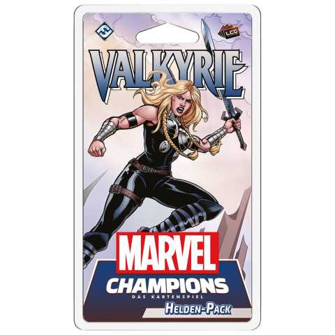 Marvel Champions: The Card Game - Valkyrie Hero Pack Board Game