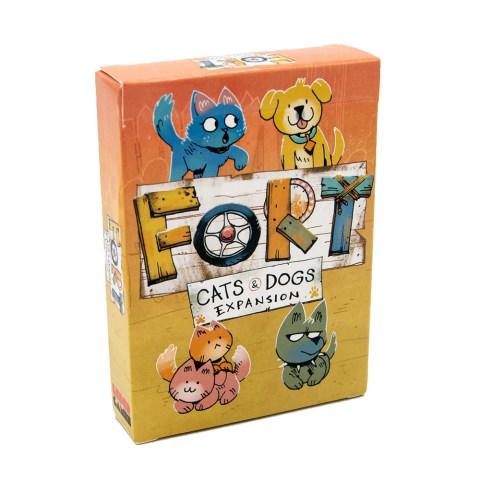 (Pre-order) Fort: Cats & Dogs Expansion (2021) - разширение за настолна игра