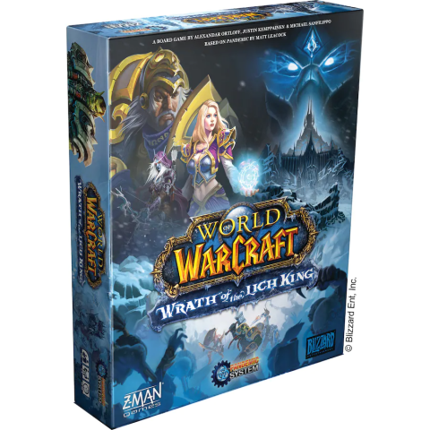 (Pre-order) World of Warcraft: Wrath of the Lich King Board Game (2021) - настолна игра