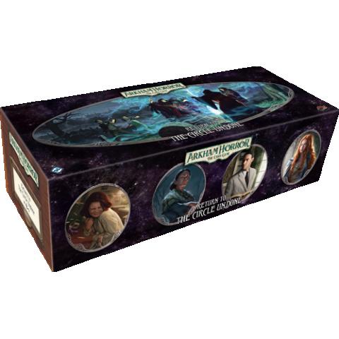 Arkham Horror: The Card Game – Return to the Circle Undone (2021) - разширение за настолна игра