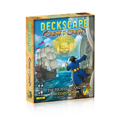 Deckscape Crew vs Crew: The Pirates' Island (2021) - настолна игра