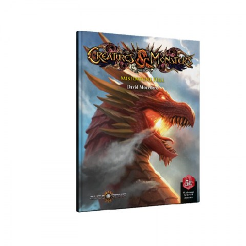 Dungeons & Dragons RPG 5th Edition: Creatures & Monsters - Misfortune Hill (5E Softcover, Adventure Book, Juegorama) в D&D и други RPG / D&D 5th Edition / D&D приключения