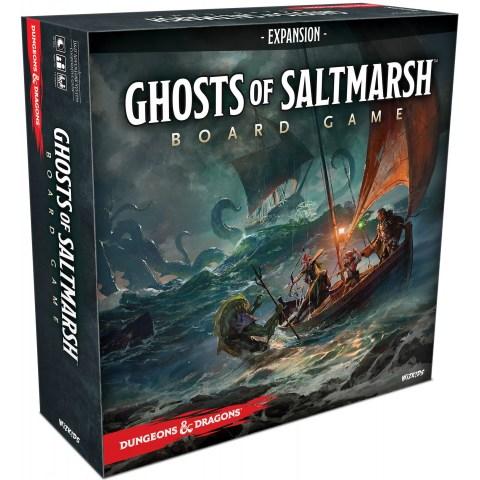 (Pre-order) Dungeons & Dragons: Ghosts of Saltmarsh Expansion (2021, Standard Edition, D&D Adventure System) - разширение за D&D Adventure System игри