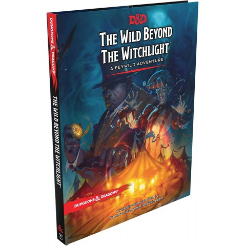 Dungeons & Dragons RPG 5th Edition: D&D The Wild Beyond the Witchlight (Hardcover) in D&D Adventures