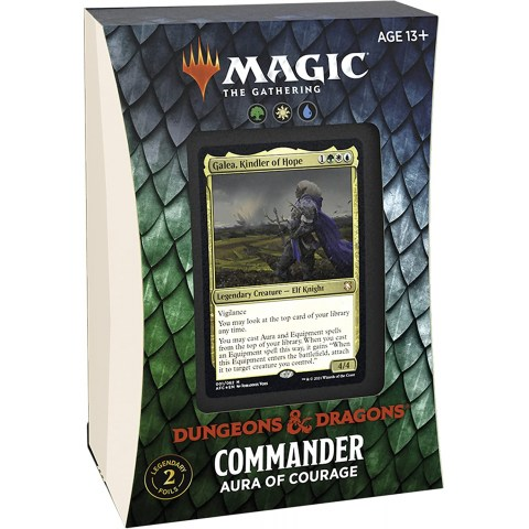 (Pre-order) MTG: Dungeons & Dragons D&D Adventures in the Forgotten Realms Commander Deck - Aura of Courage в Magic: the Gathering