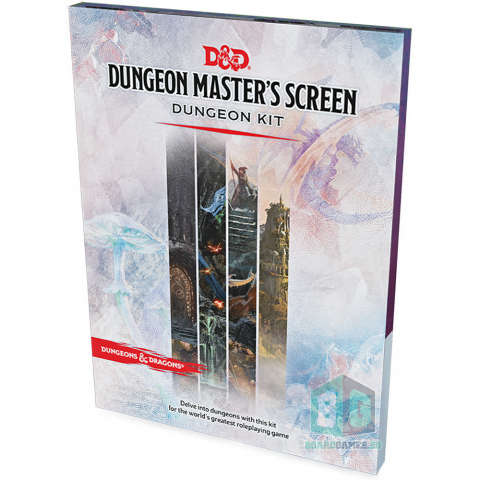 (Pre-order) Dungeons & Dragons RPG 5th Edition: D&D DM Screen - Dungeon Master's Screen Dungeon Kit в D&D и други RPG / D&D карти и аксесоари