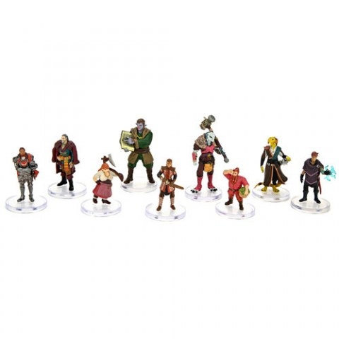 Dungeons & Dragons Fantasy Miniatures: Critical Role - Factions of Wildemount: Dwendalian Empire Box Set в D&D и други RPG / D&D Миниатюри