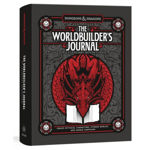 Dungeons & Dragons: The Worldbuilder`s Journal of Legendary Adventures в D&D и други RPG / D&D карти и аксесоари
