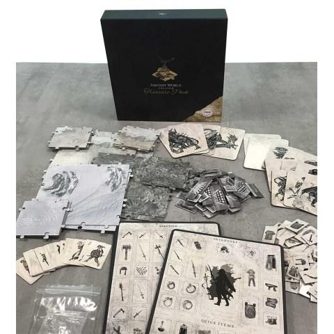 Gamestart Edizioni Fantasy World Creator: Treasure Pack - терени и др. за RPG (D&D 5E, Pathfinder) in D&D Cards & Accessories