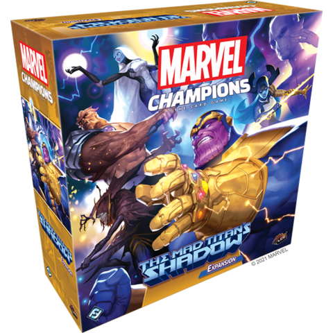 Marvel Champions: The Card Game - The Mad Titan's Shadow Expansion (2021)