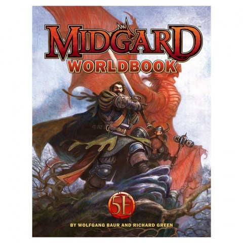 Dungeons & Dragons RPG 5th Edition: Midgard Worldbook (5E Hardcover, Campaign Setting, Kobold Press) в D&D и други RPG / D&D 5th Edition / D&D други правила