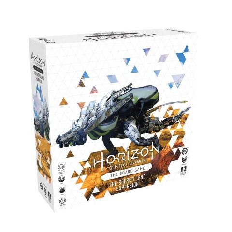 Horizon Zero Dawn: The Board Game - Sacred Land Expansion (2021) - разширение за настолна игра