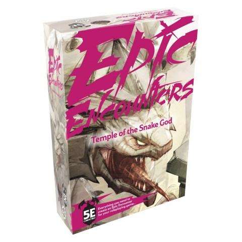 Epic Encounters: Temple of the Snake God (D&D 5E Compatible) в D&D и други RPG