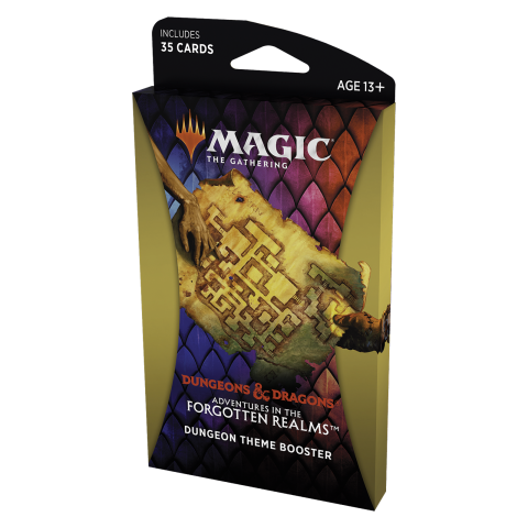MTG: Dungeons & Dragons D&D Adventures in the Forgotten Realms Theme Booster - Dungeon (1 бустер) в Magic: the Gathering