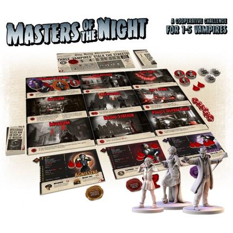 Masters of the Night (2021) - кооперативна настолна игра