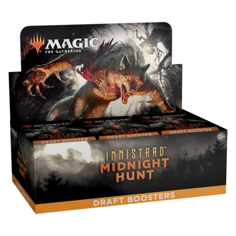 (Pre-order) MTG: Innistrad: Midnight Hunt Draft Booster Display Box (36) в Magic: the Gathering