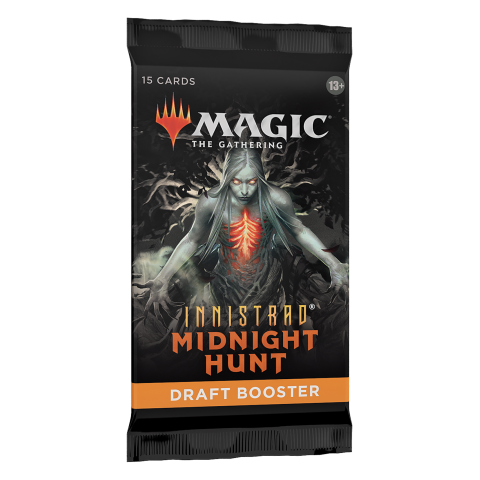 MTG: Innistrad: Midnight Hunt Draft Booster (1) in Magic: the Gathering