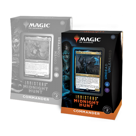 MTG: Innistrad: Midnight Hunt Commander Deck - Undead Unleashed in Magic: the Gathering