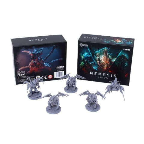 Nemesis: Alien Kings Cosmetic Expansion (2021) - допълнение за настолна игра