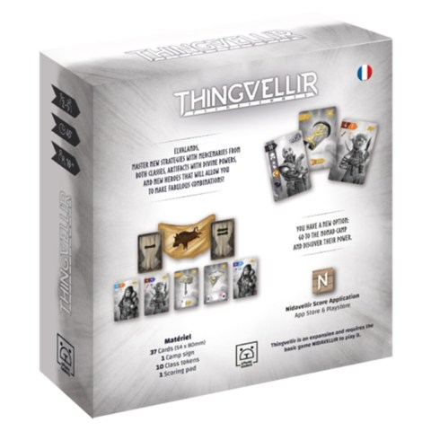 (Pre-order) Nidavellir: Thingvellir Expansion (2021) - разширение за настолна игра