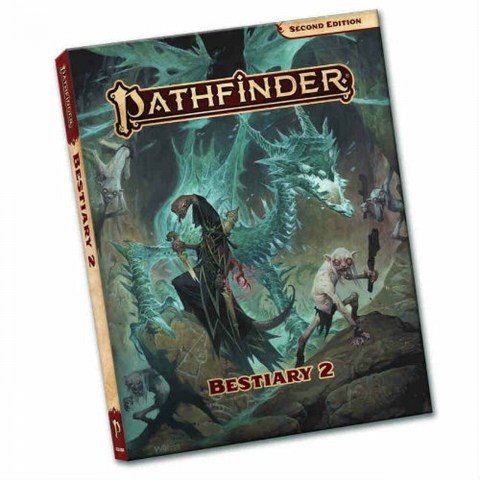 Pathfinder RPG 2nd Edition: P2 Bestiary 2 Pocket Edition (Softcover, 2021) в D&D и други RPG / Pathfinder 2nd Edition
