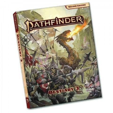 Pathfinder RPG 2nd Edition: P2 Bestiary 3 Pocket Edition (Softcover, 2021) в D&D и други RPG / Pathfinder 2nd Edition