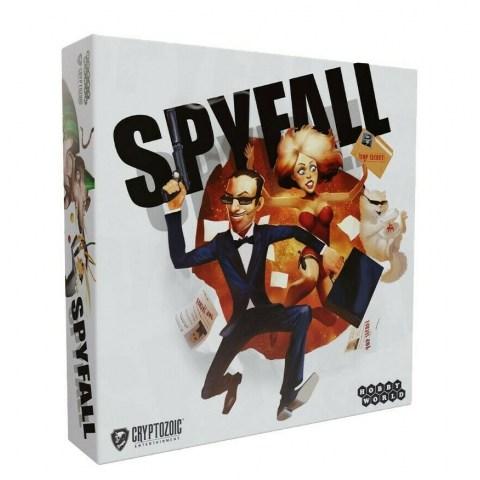 Spyfall (English edition, 2020) Board Game