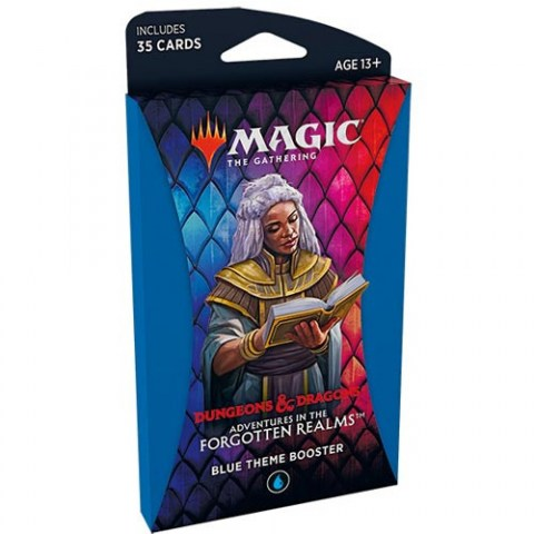 MTG: Dungeons & Dragons D&D Adventures in the Forgotten Realms Theme Booster - Blue (1) в Magic: the Gathering