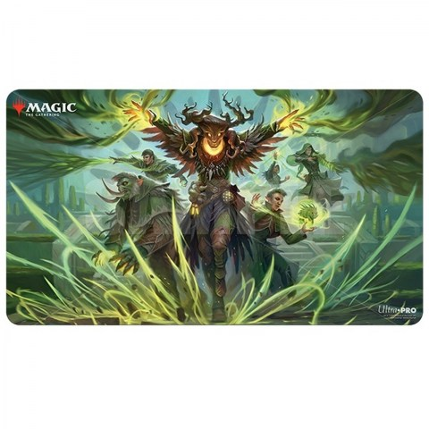 """Ultra Pro Magic the Gathering Playmat: Strixhaven - Witherbloom Command (24""""x13.5"""") in Sleeves & Accessories"""