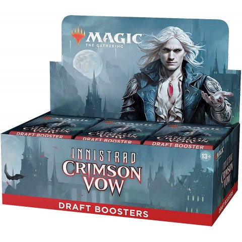 (Pre-order) MTG: Innistrad: Crimson Vow Draft Booster Display Box (36) в Magic: the Gathering