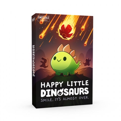Happy Little Dinosaurs (2021) - настолна игра от създателите на Unstable Unicorns