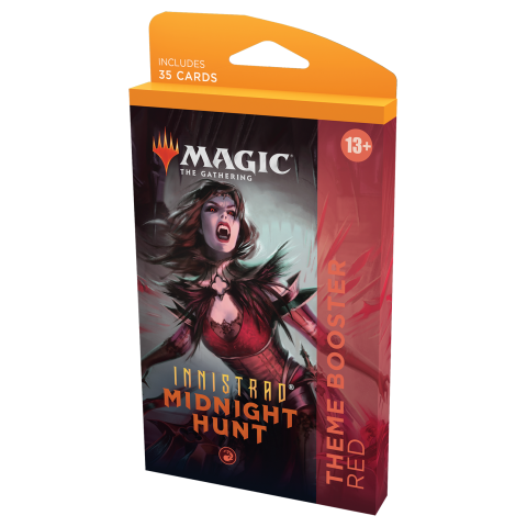 MTG: Innistrad: Midnight Hunt Theme Booster - Red (1 бустер) in MTG Theme Boosters