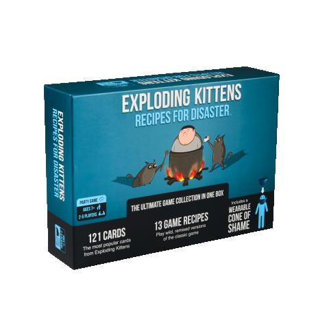 Exploding Kittens: Recipes for Disaster (2021) - настолна игра