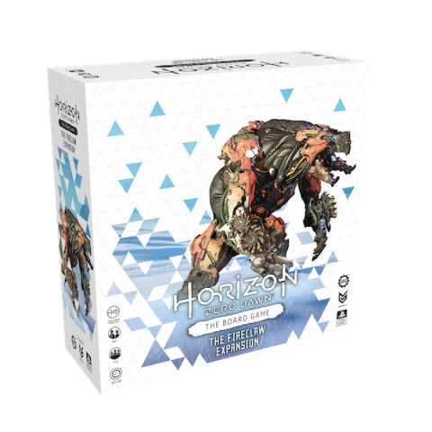 Horizon Zero Dawn: The Board Game – Fireclaw Expansion (2021) Board Game