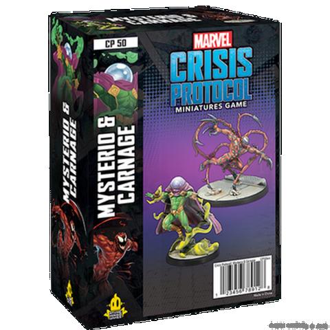 Marvel: Crisis Protocol – Mysterio & Carnage (2021) в Marvel: Crisis Protocol