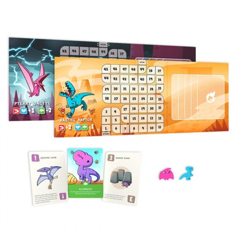 Happy Little Dinosaurs: 5-6 Player Expansion Pack (2021)