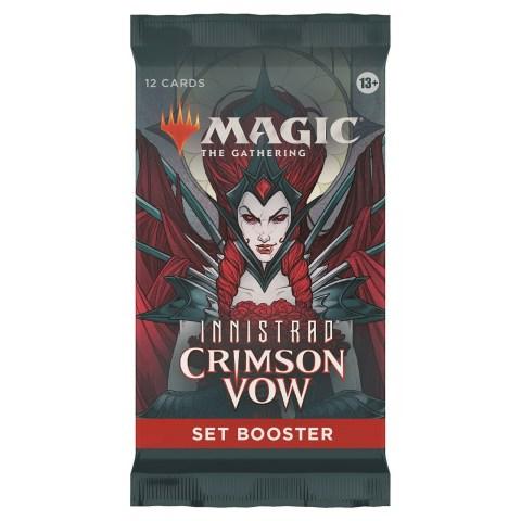 (Pre-order) MTG: Innistrad: Crimson Vow Set Booster (1) в Magic: the Gathering